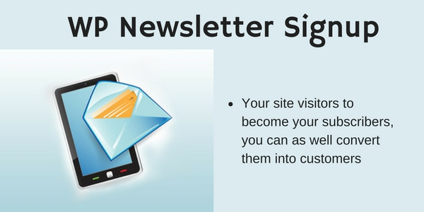 WP-Newsletter-Signup