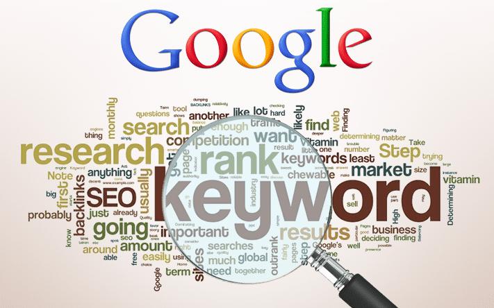 List Of Keywords