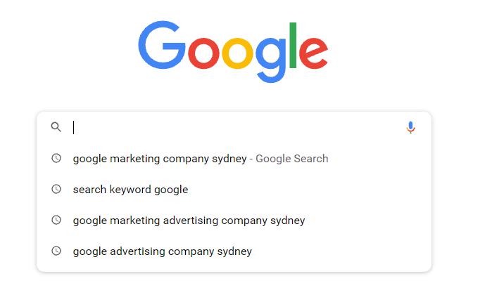 search keyword